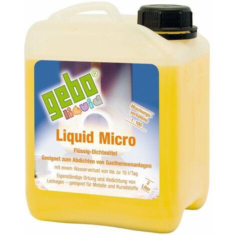 Gebo Liquid Micro 2l Dichtmittel Dichtungsmittel Flüssigdichtmittel Gasthermen