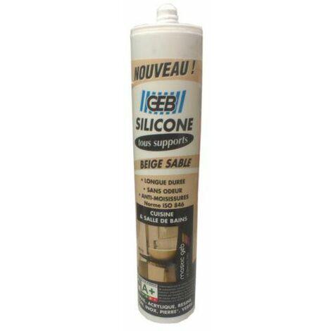 Gebsicone W2 : cartouche 280 ml, beige sable