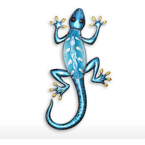 Gecko colgante de pared,Azul