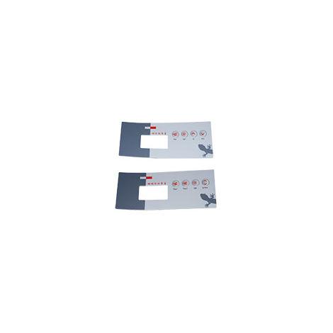 Gecko TSC-19 -Clavier de commande pour spa - Choix de la membrane - plusieurs modèles