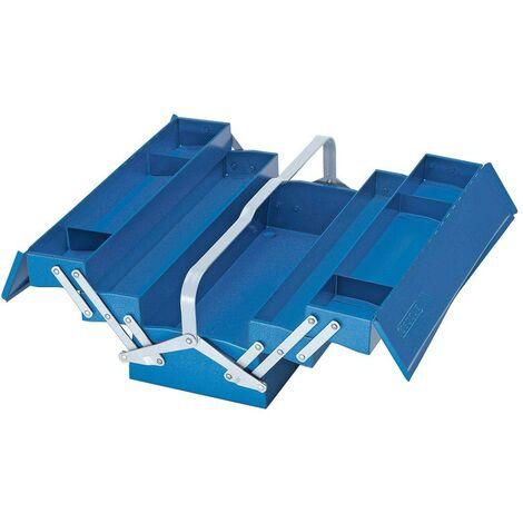Gedore Caisse à outils, vide, 5 compartiments, 210x535x225 mm - 1335 L