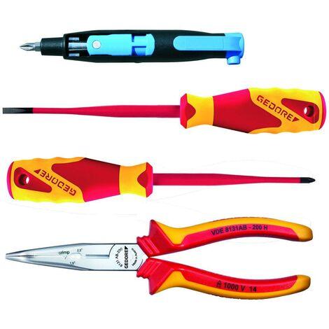 Gedore Composition d'outils VDE, 4 pièces - 1102-006 VDE