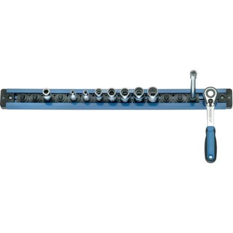 Gedore SL2013 Barre 380 mm pour 13 pièces 1/4