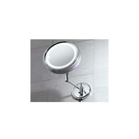 GEDY 21051300000 Espejo Aumento/Pared Con Luz Laurent