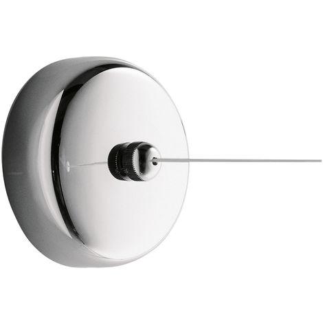 Gedy Tullo – Corde à linge rétractable max 270 cm usage intérieur/ extérieur - Séchoir fil à linge (code 2450)