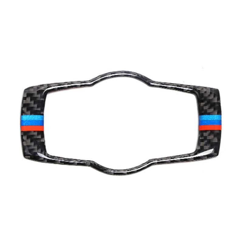 Geeignet fur BMW E90 E92 E93 Scheinwerferschalter dekorative Rahmen Innenverkleidung dekorative Kohlefaser 3er Zubehor