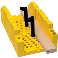 Gehrungslade PVC 310mm, m. Rueckensaege