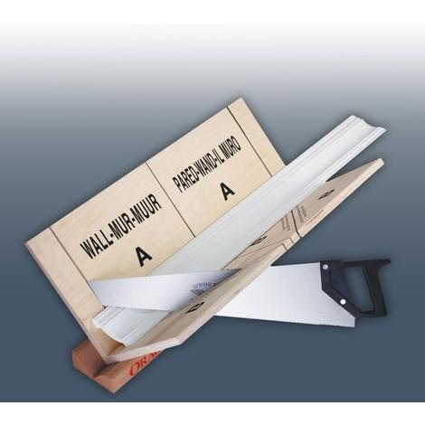 Gehrungslade und Säge Orac Decor FB300 1x Set Zubehör Gehrungslade Set max Verarbeitungsgröße: 29,7 cm x 29,1 cm