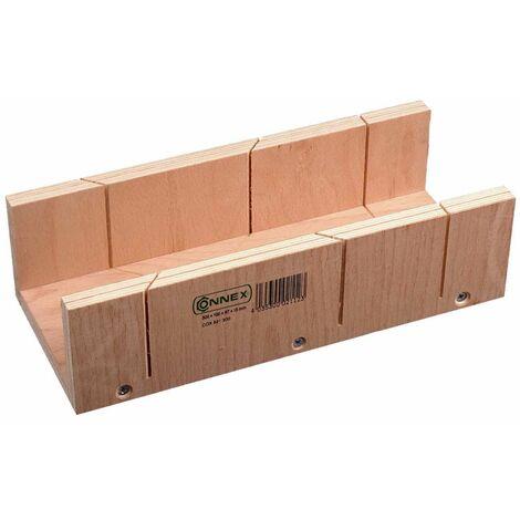 Gehrungsschneidlade Mehrschicht-Holz 240 x 60 x 35 mm