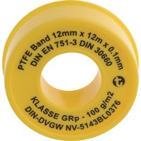 Geka PTFE-Band 12m x 12mm x 0,1 mm