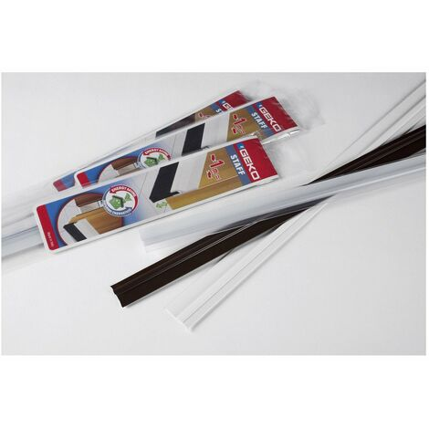 Geko Bas Porte Adh Pvc 100cm Blanc - GEKO