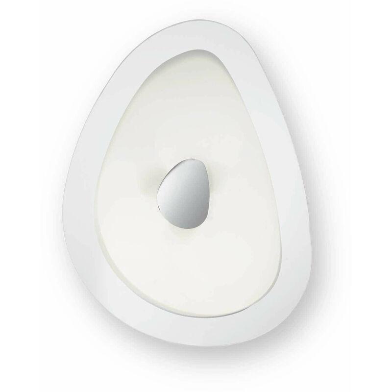 01-ideal Lux - GEKO weiße Deckenleuchte 4 Lampen
