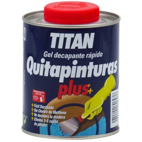 Gel Decapante rápido Quitapinturas Plus Titan 375 mL
