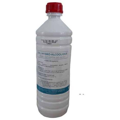 Gel hydro alcoolique - bouteille 1 litre