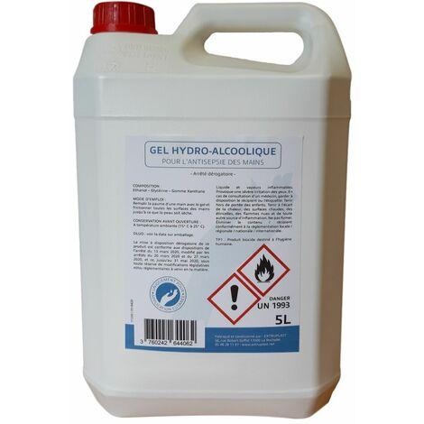 Gel hydroalcoolique 5L antiseptique XP-11280 - -