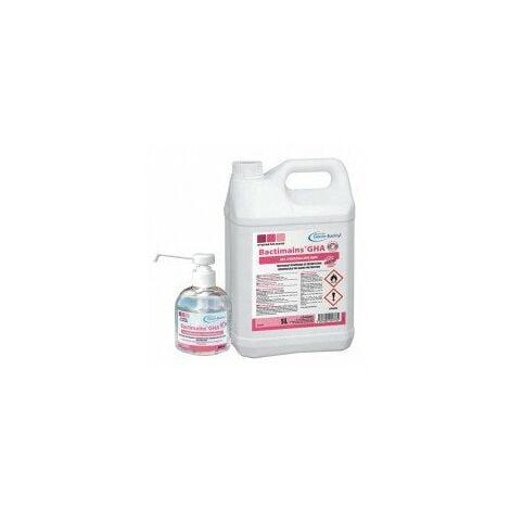 gel hydroalcoolique désignation bidon de 5 l (avec pompe)