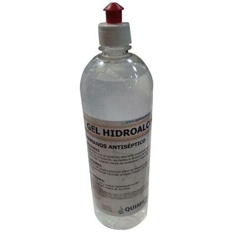 Gel hydroalcoolique désinfectant avec distributeur 1 Ud 1Lt Quimica Facil, S.L.