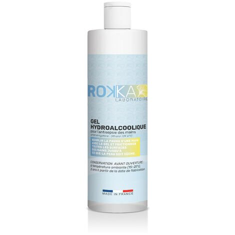 Gel HydroAlcoolique ROKKA, Flacon 250 ml
