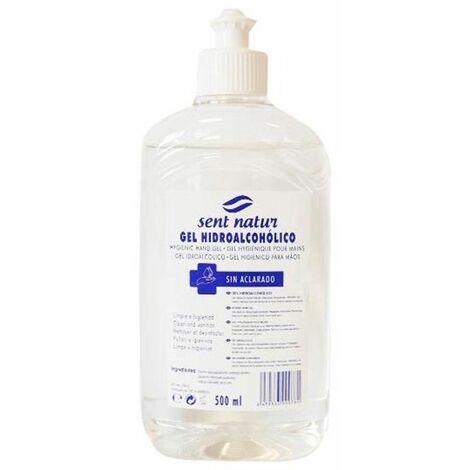 Gel Hydroalcoolique Sent Natur Désinfectant pour les Mains 500 ml
