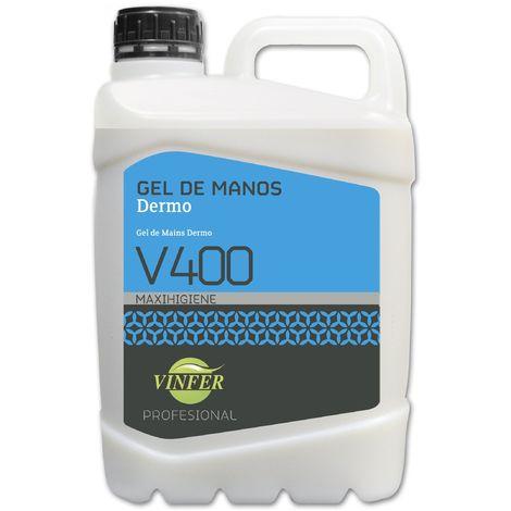 Gel Jabón de Manos Dermo V400 5L.