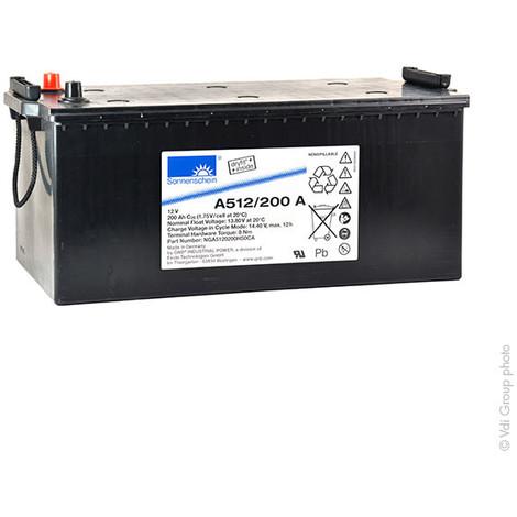 Gel lead acid battery A512/200A 12V 200Ah Auto