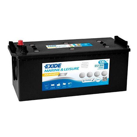 Gel lead acid battery EXIDE Equipment GEL ES1350 (1350Wh) 12V 120Ah Auto