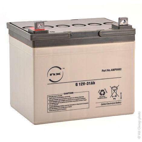 Gel lead acid battery NX 31-12 Cyclic 12V 31Ah M5-M