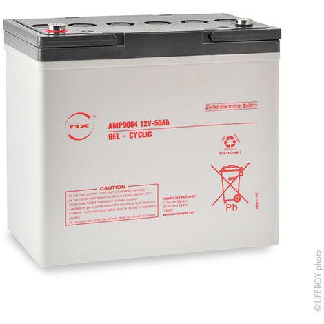 Gel lead acid battery NX 50-12 Cyclic 12V 50Ah M6-F