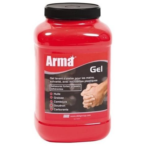 Gel nettoyant arma gel solvante microbilles - seau de 15 l
