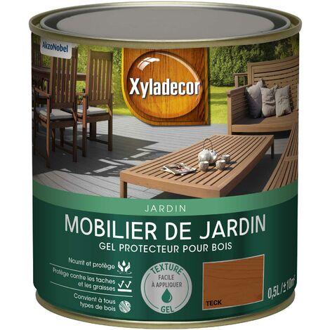 Gel protecteur 0,5L Mat - Mobilier de jardin Bois extérieur - Xyladecor