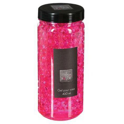 Gel Vase Crystal 500ml Rose