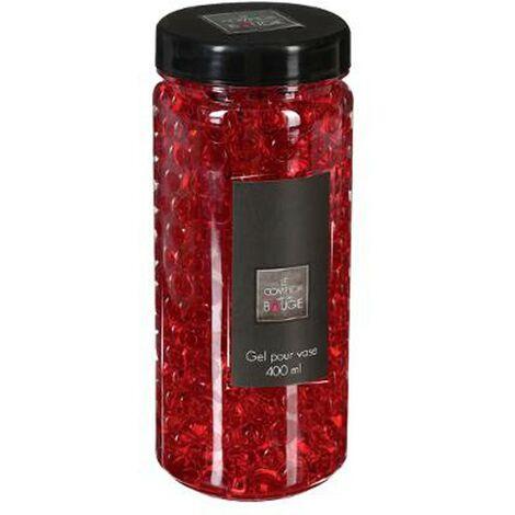 Gel Vase Crystal 500ml Rouge