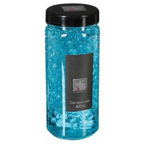 Gel Vase Crystal 500ml Turquoise