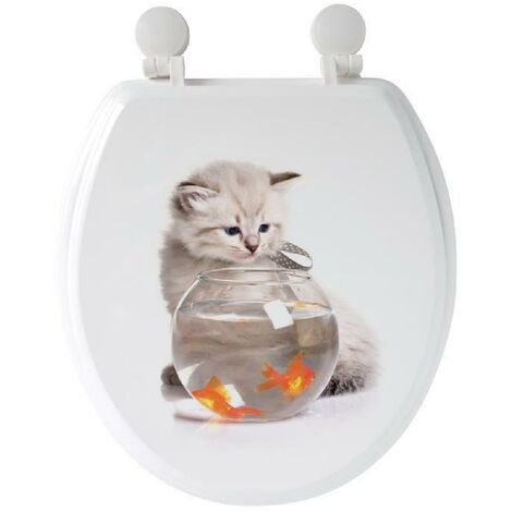 "main image of ""GELCO Abattant WC Mia Multi blanc"""