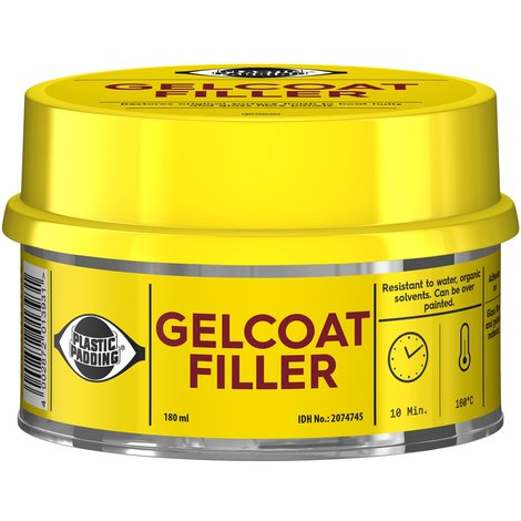 Gelcoat Filler Kit Riparazione e Fissaggio Vetroresina Colore Bianco Loctite ml 180