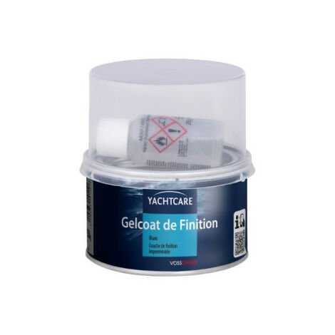 Gelcoat Yachtcare 250g white finish with hardener