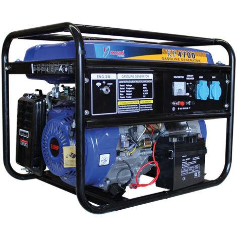 Generador Con Motor a Gasolina 270CC 9HP Arranque Elétrico - Kawapower