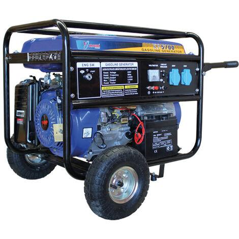 Generador Con Motor a Gasolina 429CC 14HP Con Arranque Elétrico - Kawapower