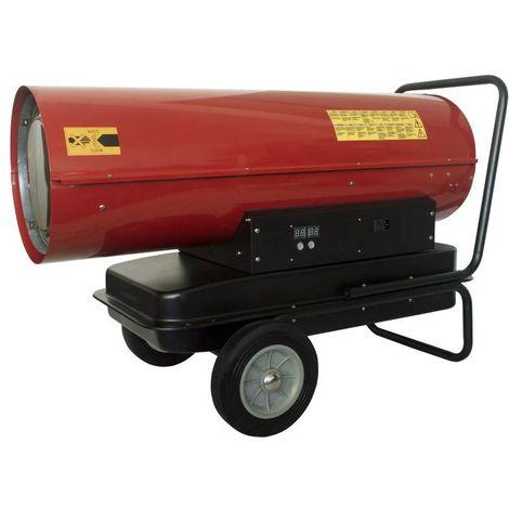 Generador de aire caliente a gasóleo