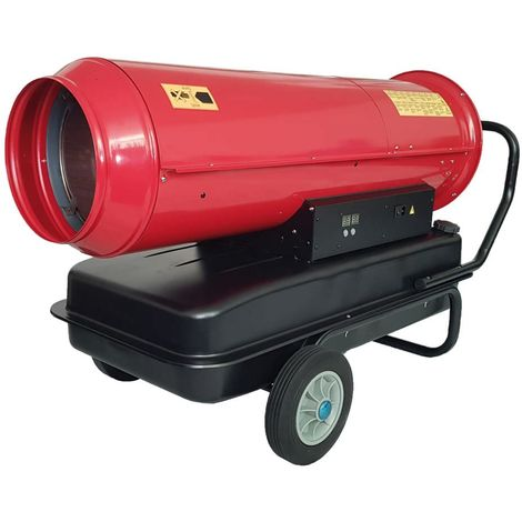 Generador de aire caliente a gasóleo cm 147x69x83 MHTEAM DH1-100