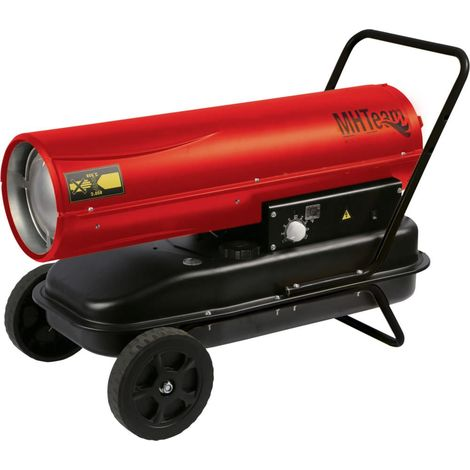 Generador de aire caliente con ruedas cm 92,5x57,5x62,5 MHTEAM DH1-30