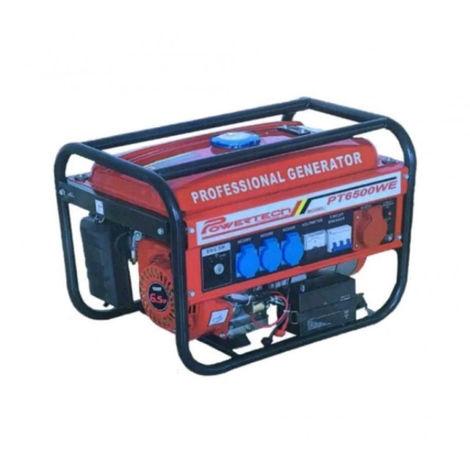 GENERADOR DE CORRIENTE CON ARRANQUE ELECTRICO POWERTECH PT6500WE