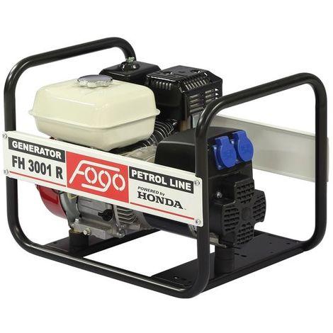 Generador de energía Honda con estabilizador de voltaje Fogo FH3001R