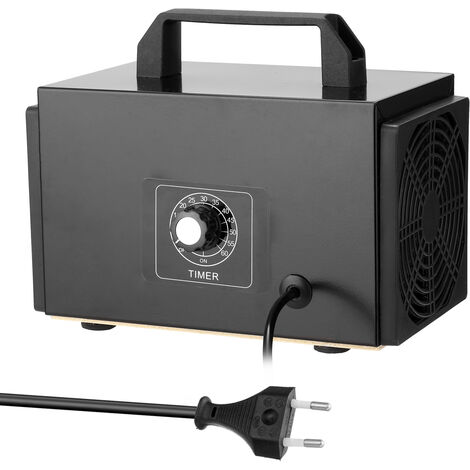 Generador de maquina de ozono portatil, purificador de filtro de aire, con interruptor de sincronizacion