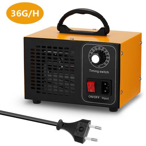 Generador de maquina de ozono portatil, purificador de filtro de aire, con interruptor de sincronizacion Ozonizador Ozonizador,UE 36 g / h