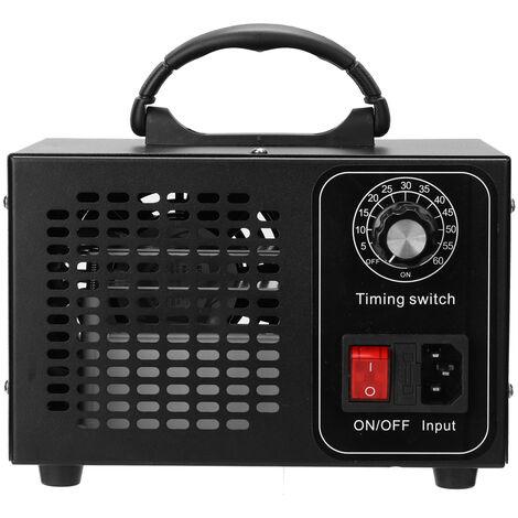 Generador de maquina de ozono portatil, purificador de filtro de aire, con interruptor de sincronizacion,Multicolor, 10g-UE