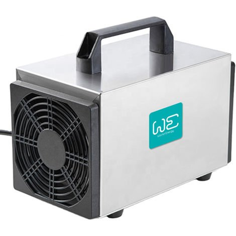 Generador de Ozono 20,000 mg/h, limpiador de ozono comercial, dispositivo de ozono para habitaciones, humo, coches y mascotas