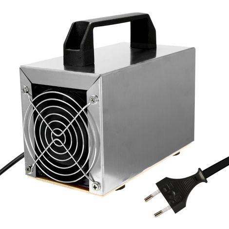 Generador de ozono 32 g de ozono de la maquina limpiador de aire purificador de aire Limpieza del filtro de aire del ventilador formaldehido Para el hogar, 32 g / h