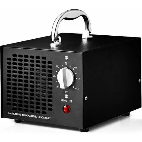 Generador de Ozono 5000mg / h Profesional Ozonizador Purificador de Aire Función de Temporizador