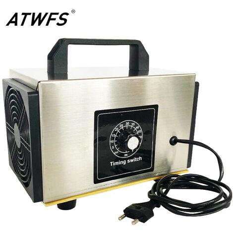 Generador de ozono ATWFS 220v 10g / 24g / h Purificador Aiir Ozonizador Machine O3 Ozono Ozon Generator Desinfección Desodorante con Timingi - 10g / h